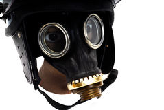 Teargass mask Stock Photography