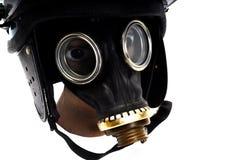 Teargassmasker Stock Fotografie