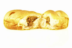 Tearing loaf bread Stock Photos