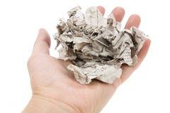 Tearing Newspaper Stock Photos