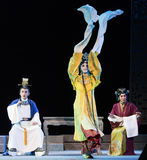 "Tearless rage- imperial harem or seraglio-Jiangxi opera ""Red pearl"" Royalty Free Stock Photography"