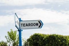 Tearoom αυτός ο τρόπος Στοκ Εικόνες