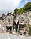 Tearoom with B&B. Traditional British tearoom and bed and breakfast Royalty Free Stock Photography
