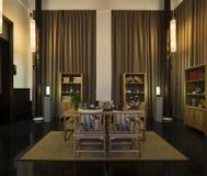Tearoom china. Eastphoto, tukuchina,  Tearoom, Indoor Environment Royalty Free Stock Images