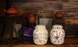 Tearoom cinese Immagine Stock