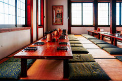 A tearoom in Japan Stock Photography