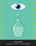 Tears in a Bottle Stock Image