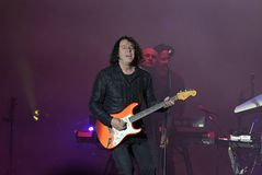 Tears for Fears. Rio de Janeiro, September 22, 2017. Cantor and guitarist Roland Orzabal of the band Tears for Fears during the presentation of his show at Rock stock photos
