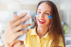 Tears of joy Royalty Free Stock Image