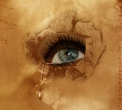 Tears for the World Royalty Free Stock Photos