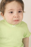 Teary Eyed. Nine mth baby Royalty Free Stock Photography