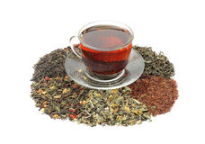 Teas - assorted Stock Photography