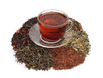 Teas - assorted Stock Image