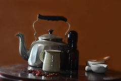 Teas and elixirs, Natural cure Stock Images