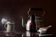 Teas and elixirs, Natural cure Stock Photos