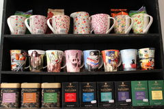Teas and mugs Stock Photos