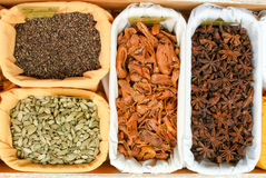 Teas and Spices Stock Image