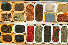 Teas and Spices Stock Images