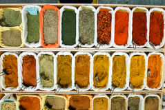 Teas and Spices Royalty Free Stock Photos