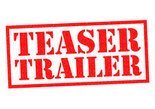 TEASER TRAILER Stock Images