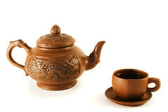 Teaset Photographie stock