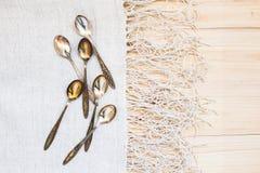 teaspoons Fotografie Stock Libere da Diritti