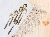 teaspoons Imagem de Stock Royalty Free