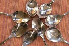 teaspoons Obraz Stock