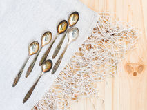 Teaspoons Royalty Free Stock Image