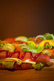 2 teasty хот-дога Стоковое Фото