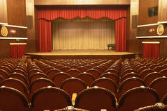 teater Arkivbild