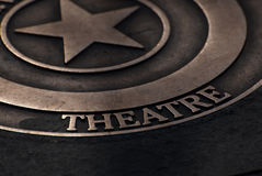 teater Arkivfoton