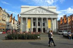 Teater Aachen Royaltyfri Fotografi