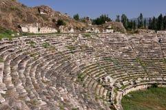 Teater Afrodisias/Aphrodisias forntida stad, Turkiet fotografering för bildbyråer