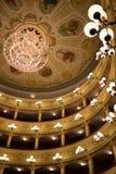 Teater av Chieti Fotografering för Bildbyråer
