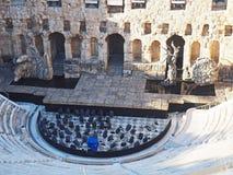 Teater av den Herodes atticusen, Aten, Grekland Arkivbilder
