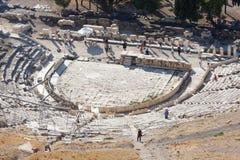 Teater av Dionysus Arkivfoton