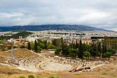 Teater av Dionysus Royaltyfria Bilder