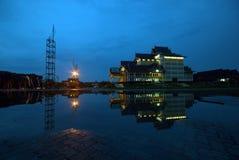 Teater Bandar Serai Pekanbaru Arkivfoton