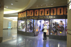 teater för cirque du kodak soleillager Arkivbild