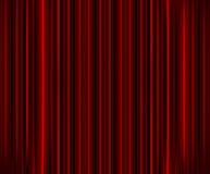 teater för gardinfilmpresentation Arkivfoto