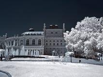 teater för stadsodessa opera Royaltyfri Bild