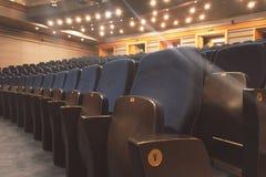 teater för tomma platser Royaltyfri Fotografi