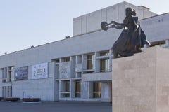 Teater för Vologda tillståndsdrama, Ryssland Arkivfoton