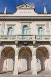 Teater i den Gradisca dIsonzoen Royaltyfri Foto