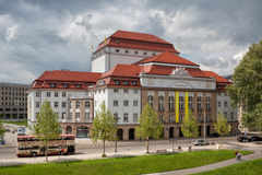 Teater i Dresden Fotografering för Bildbyråer