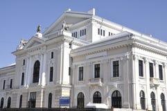 Teater i Drobeta Turnu-Severin, Rumänien Arkivbild