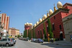 Teater-museum Dali Museum Arkivbilder