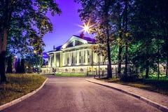 Teater på den vita natten för stenö Royaltyfria Bilder