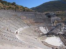 Teater på Ephesus Royaltyfria Bilder